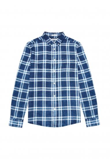 Koszula męska w kratę WRANGLER