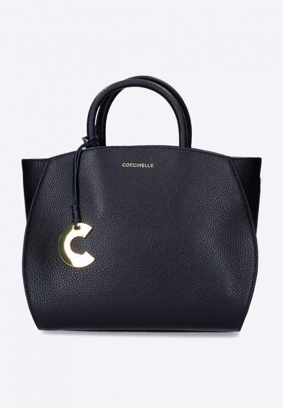 Skórzana torebka marki coccinelle