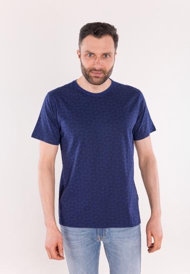 Wzorzysty t-shirt CARRERA...