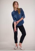 Koszula jeansowa ze zdobieniami CHIARA D'ALBA