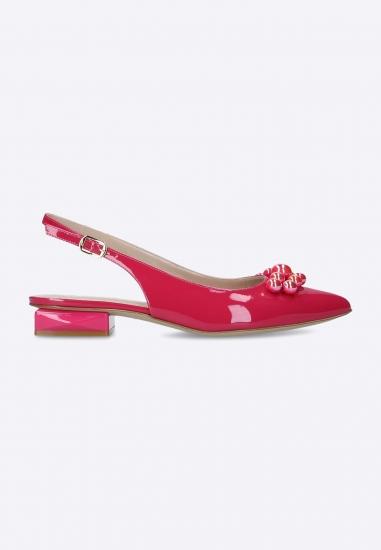 Skórzane sandały Musella