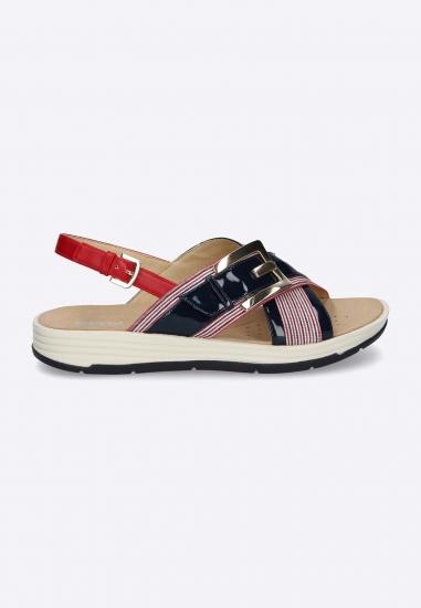 Kolorowe sandały ze zdobieniem GEOX