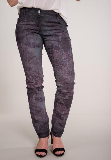 Wzorzyste spodnie KENNY S