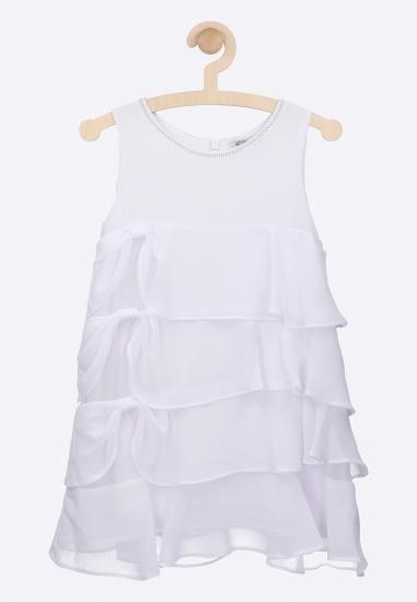 Sukienka z falbankami MELBY